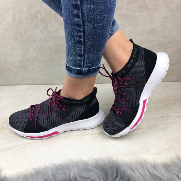 adidas cloudfoam quesa running shoes